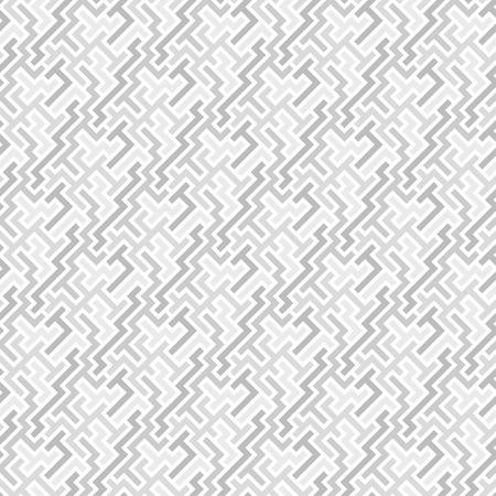 Grey 3d tiles. Seamless vector pattern Vector