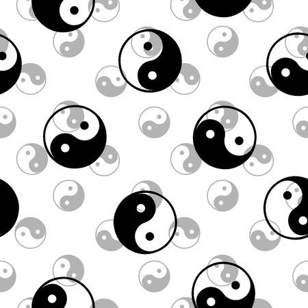 Seamless dao pattern Vector