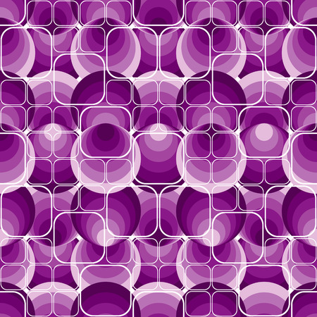 Seamless violet pattern Vector