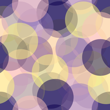 Colorful seamless circles pattern Illustration