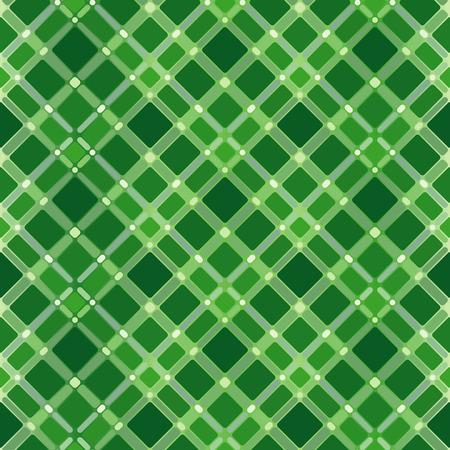 Seamless green tile pattern Vector