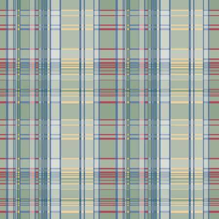 Seamless plaid pattern Vector