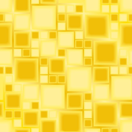 Seamless yellow tile pattern Vector