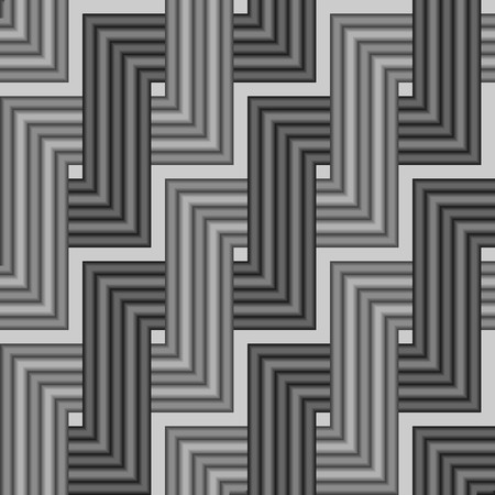 Seamless grey tile pattern Vector