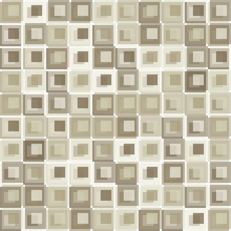 Seamless brown tile pattern