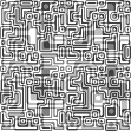 uncolored: Retro fondo en blanco y negro sin soldadura Vectores