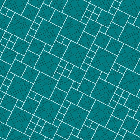Green tiles. Seamless vector pattern Vector