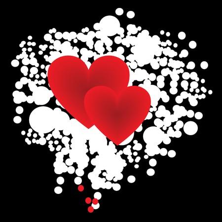 spillage: Borde de coraz�n de grunge para cualquier prop�sito!