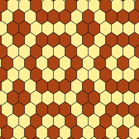 Seamless hexagon vector tile pattern Vector