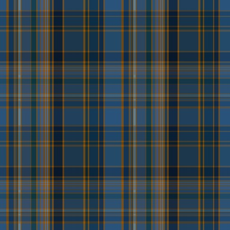 madras: Seamless plaid dark vector pattern