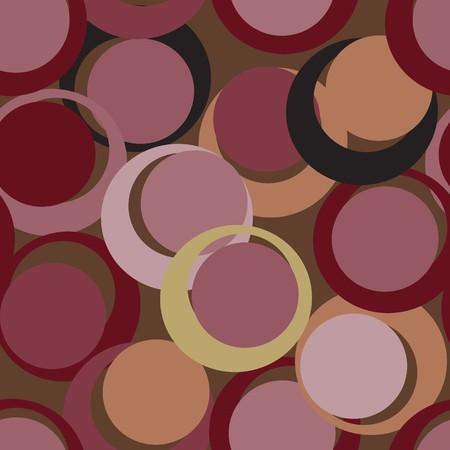 Seamless vector texture with circles Stock Vector - 6350964