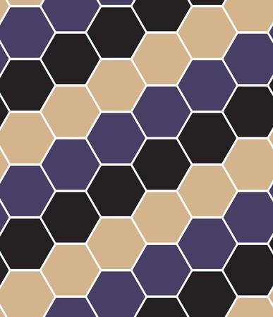 Hexagon tiles. Seamless pattern Stock Vector - 6457934