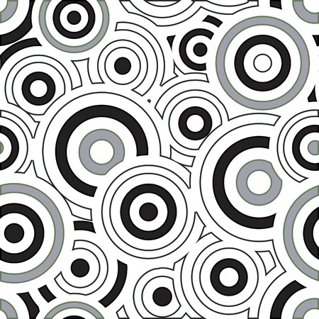 Seamless vector texture with circles Stock Vector - 6524661