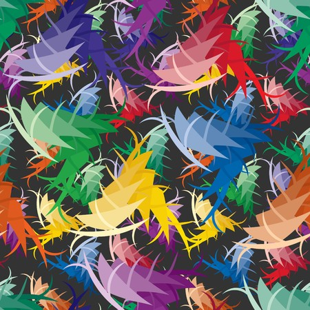 vivid: Vivid colorful repeating abstract seamless background