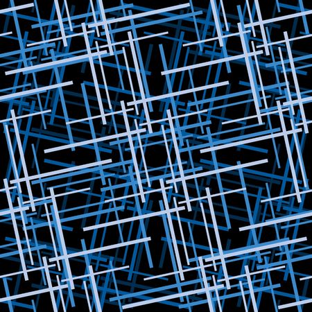 Retro blue seamless tile background