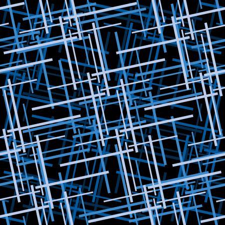Retro blue seamless tile background