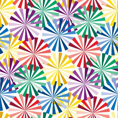 Vivid colorful repeating abstract seamless background Stock Vector - 6707986
