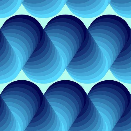 conformation: Transparente textura abstracto de azul 3d