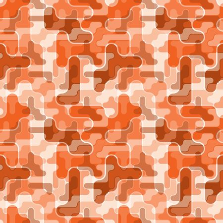Seamless brown material pattern Vector
