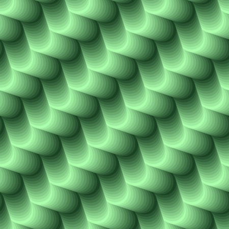 conformation: Seamless abstract 3d green texture