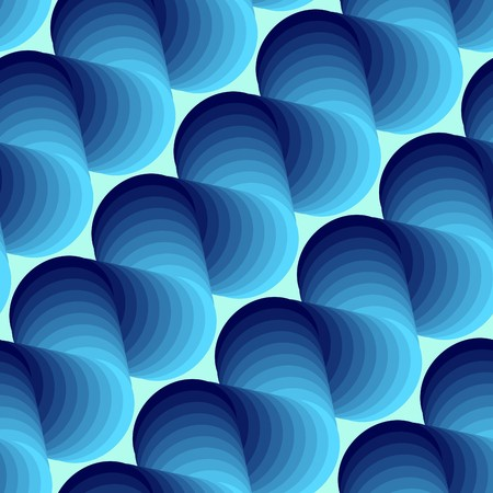 meshwork: Seamless abstract 3d blue texture
