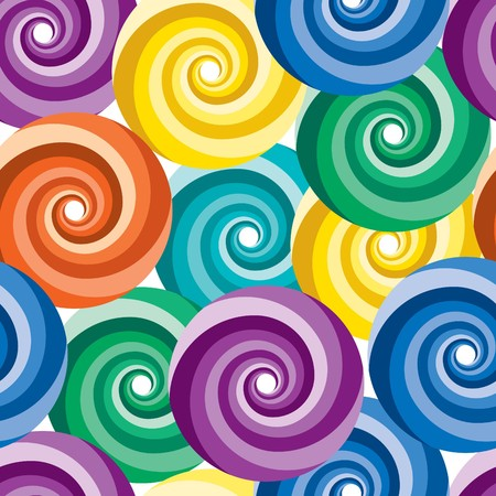 Vivid colorful repeating abstract seamless background