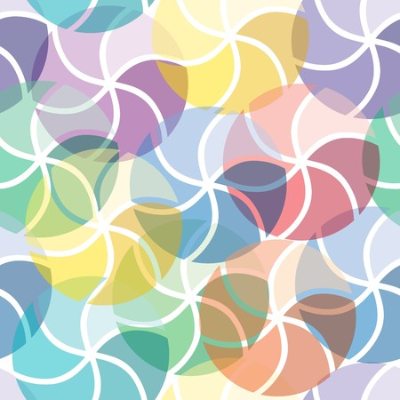 Vivid colorful repeating abstract seamless background Stock Vector - 7009855