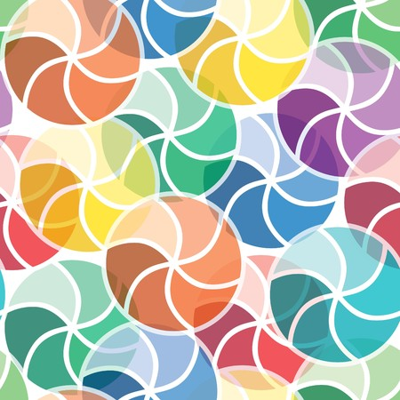 Vivid colorful repeating abstract seamless background Stock Vector - 7009838