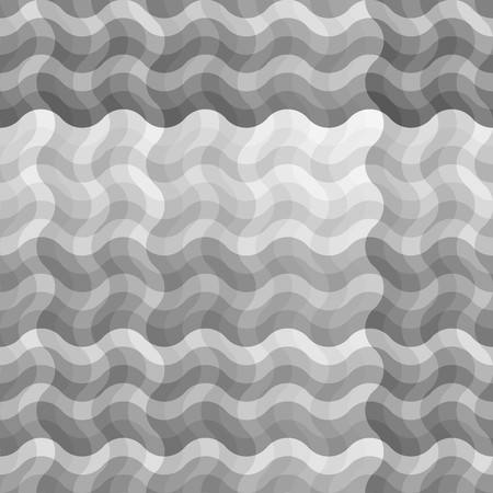 uncolored: Seamless uncolored wave background Illustration