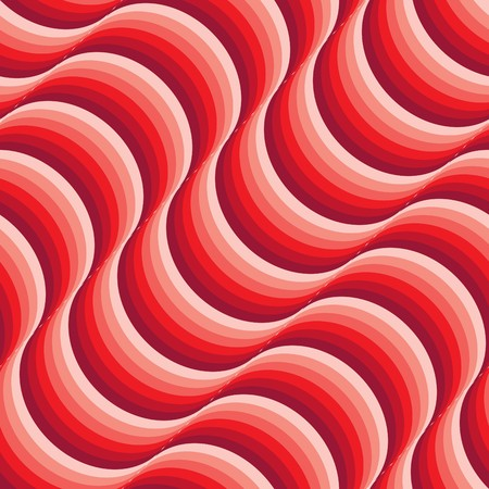 meshwork: Seamless abstract red wave texture