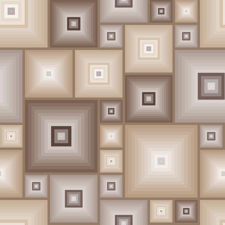 Nahtlose Fliese braun Muster