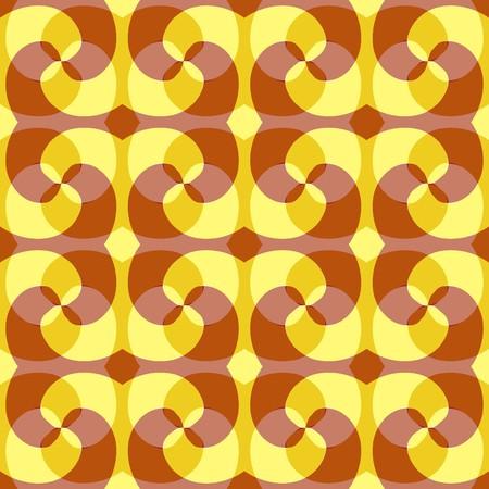 chaotical: Seamless yellow abstract swirl pattern