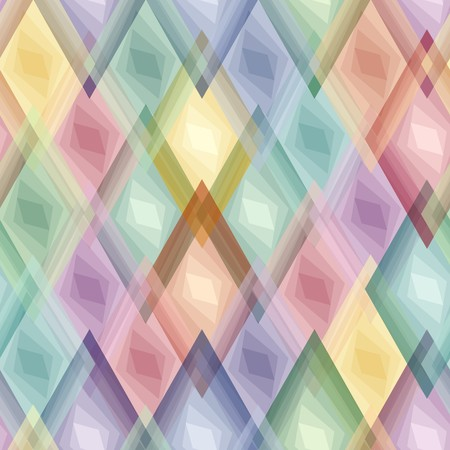 Retro vivid seamless rhombus background