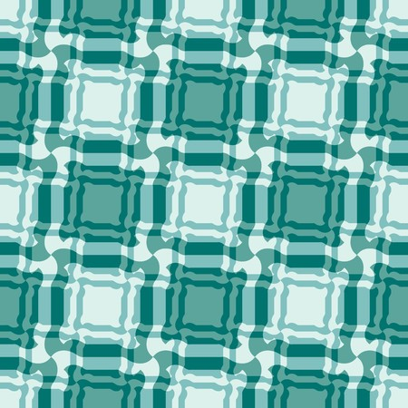Seamless green tile plaid pattern Vector
