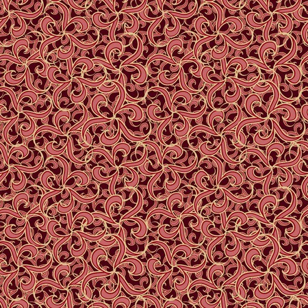 chaotical: Seamless brown abstract   pattern