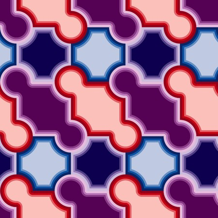 Violet tiles. Seamless   pattern Vector