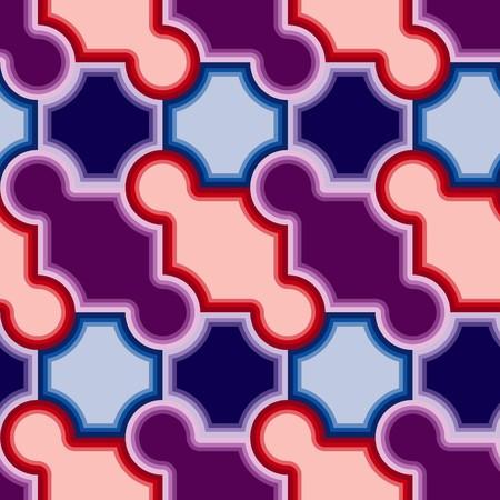 Violet tiles. Seamless   pattern Vector