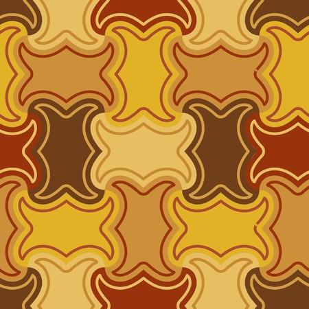 nebulosity: Seamless brown tile  pattern Illustration