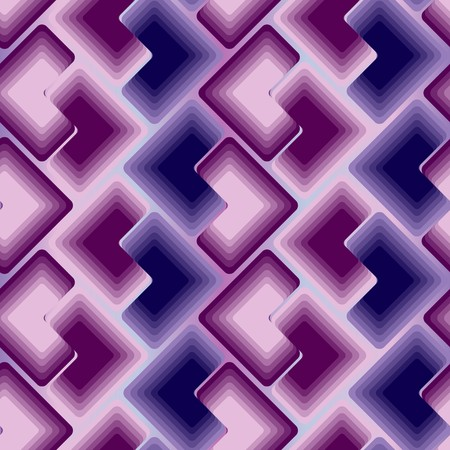 Violet dark tiles. Seamless  pattern Vector