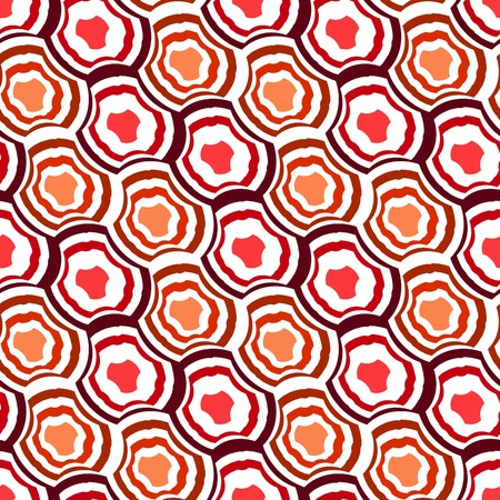 nebulosity: Seamless red tile  pattern Illustration