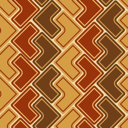 seamlessly: Marrone seamless tile pattern Vettoriali