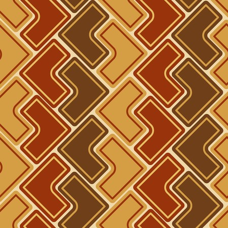repeated: Seamless brown tile   pattern