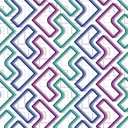 symmetry: Seamless   pattern with tiles