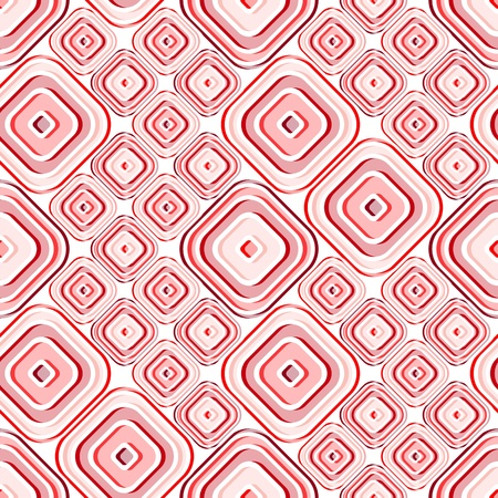 Seamless red tile wallpaper. Also suitable as material pattern Vector