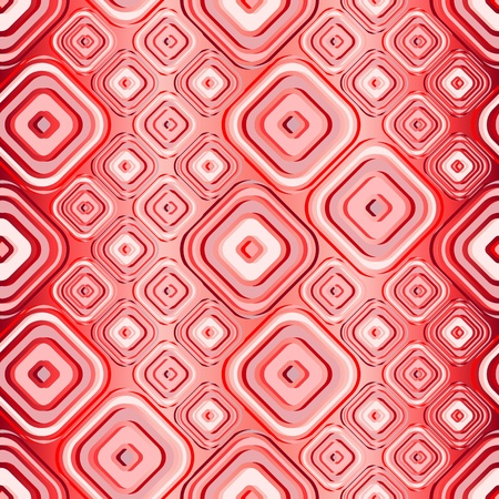 Seamless red tile wallpaper. Also suitable as material pattern Stock Vector - 9450024