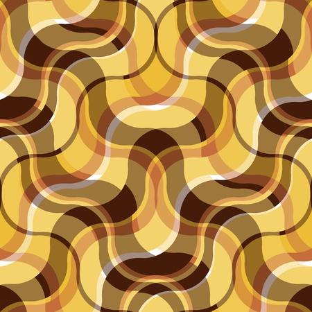 conformation: Resumen de antecedentes sin fisuras a cuadros con las ondas de color marr�n y amarillo