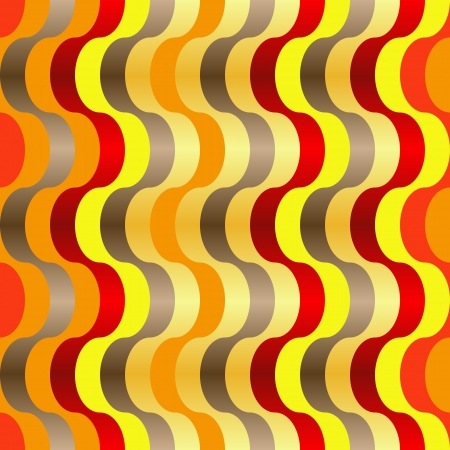 meshwork: Seamless abstract texture with orange yellow red swirl lines