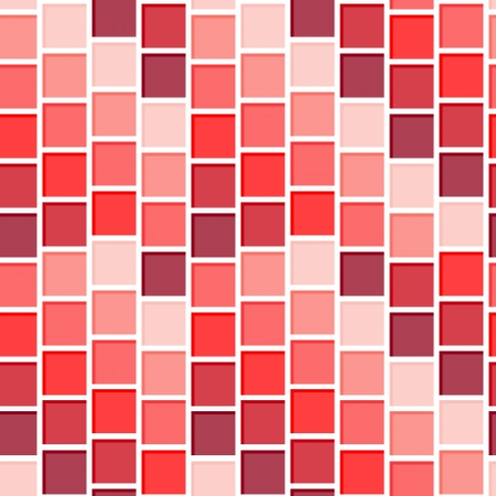 repeat square: Seamless red tile wallpaper. Also suitable as material pattern Illustration