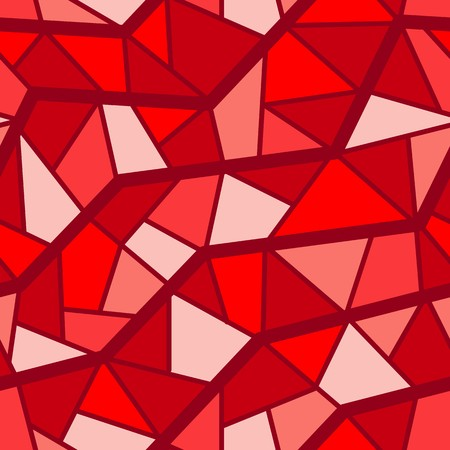 heather: Seamless vector texture with red garnet tiles Illustration