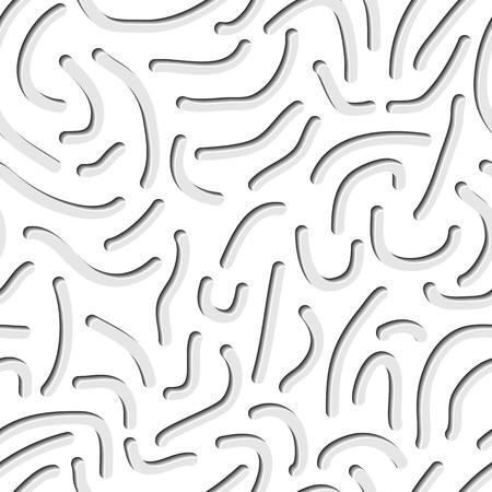 gusanos: Lote de gusanos. Patr�n abstracto sin fisuras con los gusanos. Foto de archivo